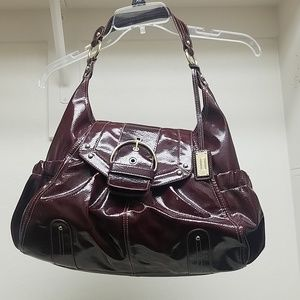 Raspberry Red Leather bag